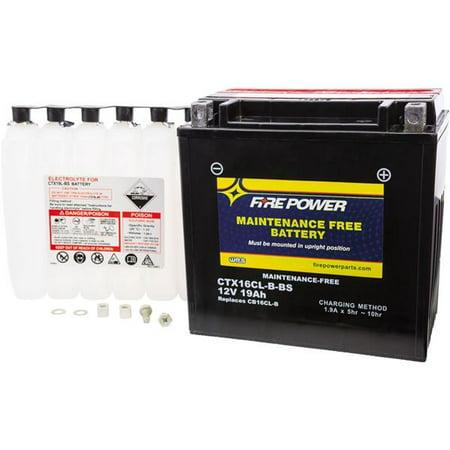 Fire Power Sealed Maintenance Free Battery - KAWI JET SKI 440 1992; KAWI JET SKI Battery Powered Jet Ski