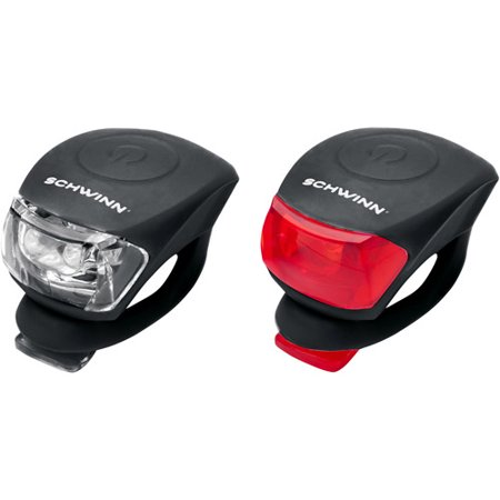 Schwinn LED Snake Light Combo Set (Best Bike Lights For Unlit Roads)