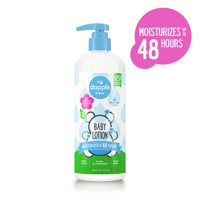 Dapple Baby Plant Based Baby Lotion, Fragrance Free, 16.9 oz.