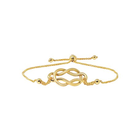 Yellow Gold Celtic Bracelets (Celtic Knot Bolo Bracelet in 14k Yellow Gold)