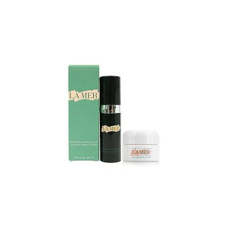 la mer the lifting contour serum 5ml. + la mer the moisturizing cream 3.5ml. by la mer