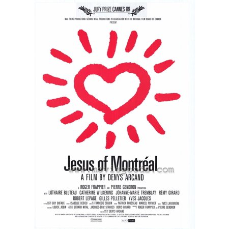 Jesus Of Montreal Poster Movie  27X40