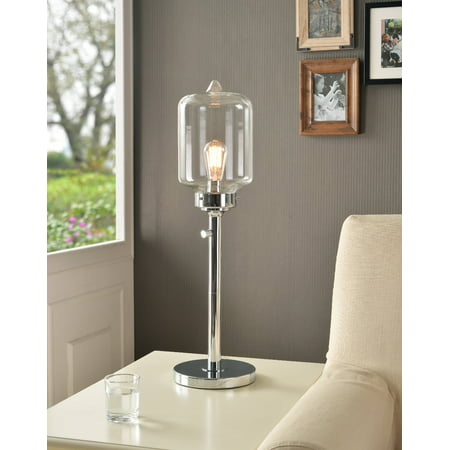 Kenroy Casey Table Lamp  - Chrome