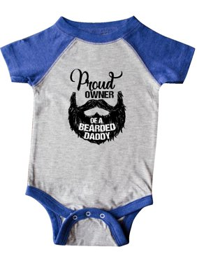Proud Owner of a Bearded Daddy Infant Creeper