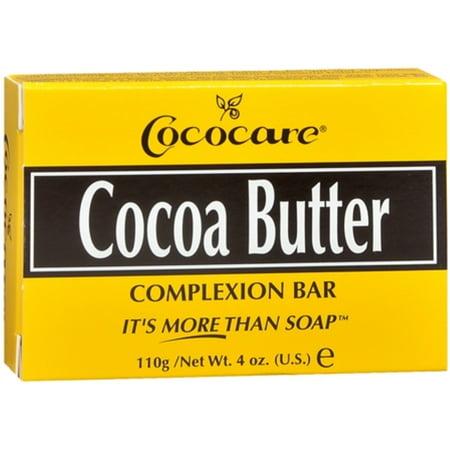 Cococare Products Cococare  Cocoa Butter Complexion Bar, 4 oz Bath Complexion Discs