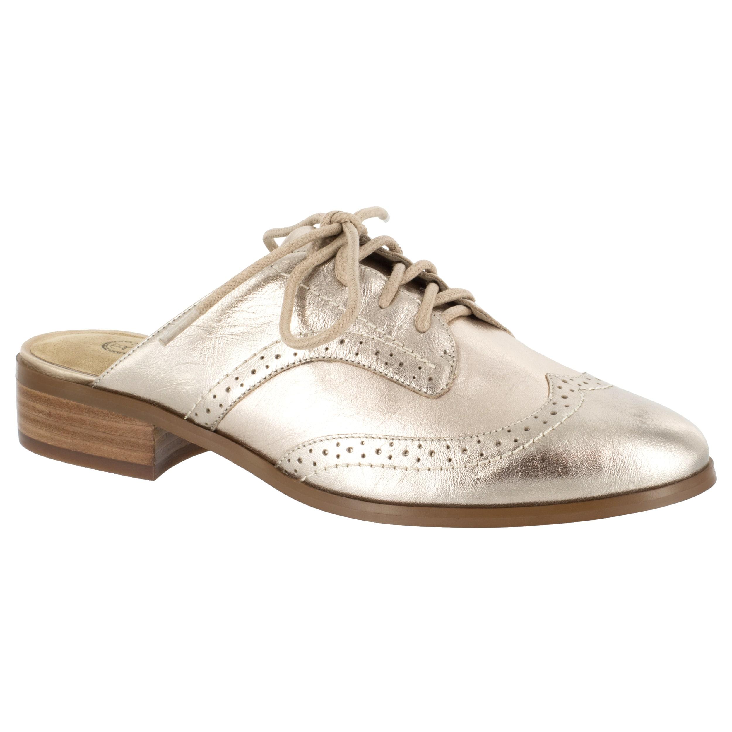 Bella Vita Women's Baxter Mule Metallic Leather Shoes by Overstock