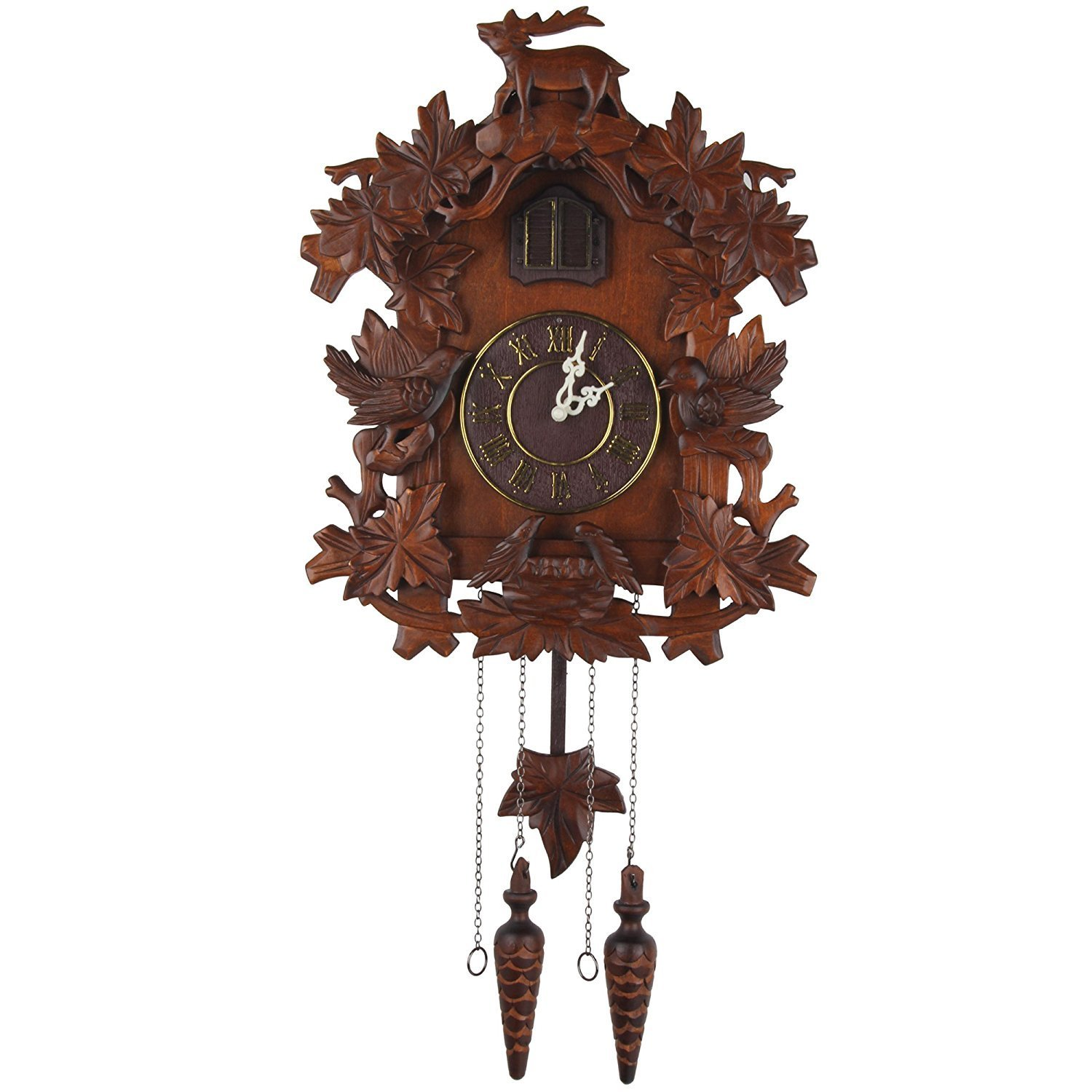 Kendal Handcrafted Wood Cuckoo Clock MX015-1 by