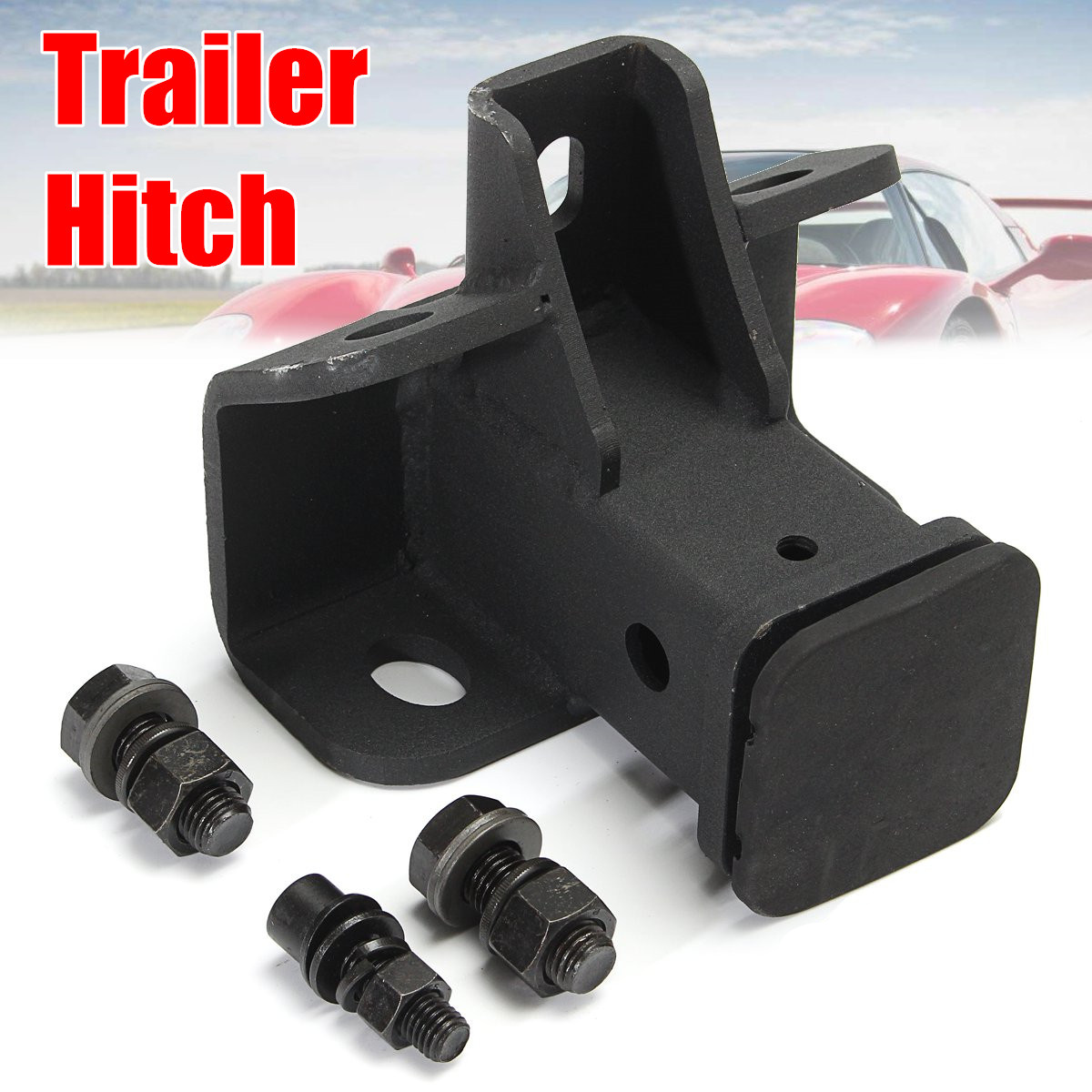 Towing Trailer Hitch Receiver Black Other Vehicle Parts