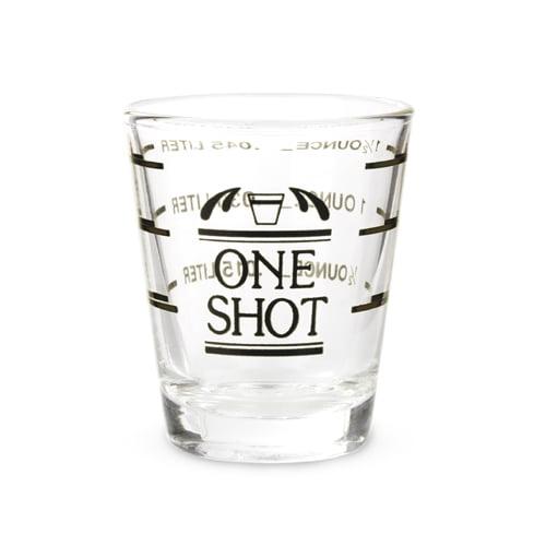 Bullseye: Measured Shot Glass by True Brands