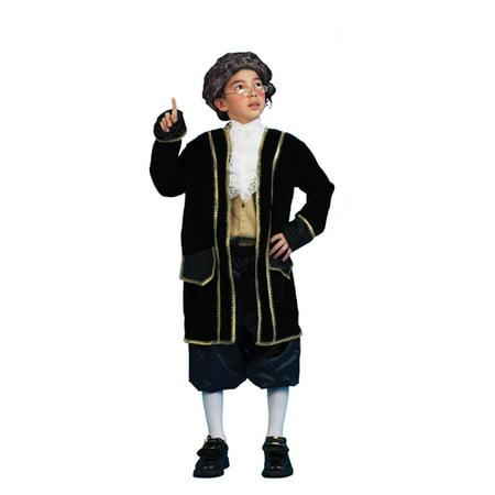 Ben Franklin Historical Child Costume Small](Alan Costume)