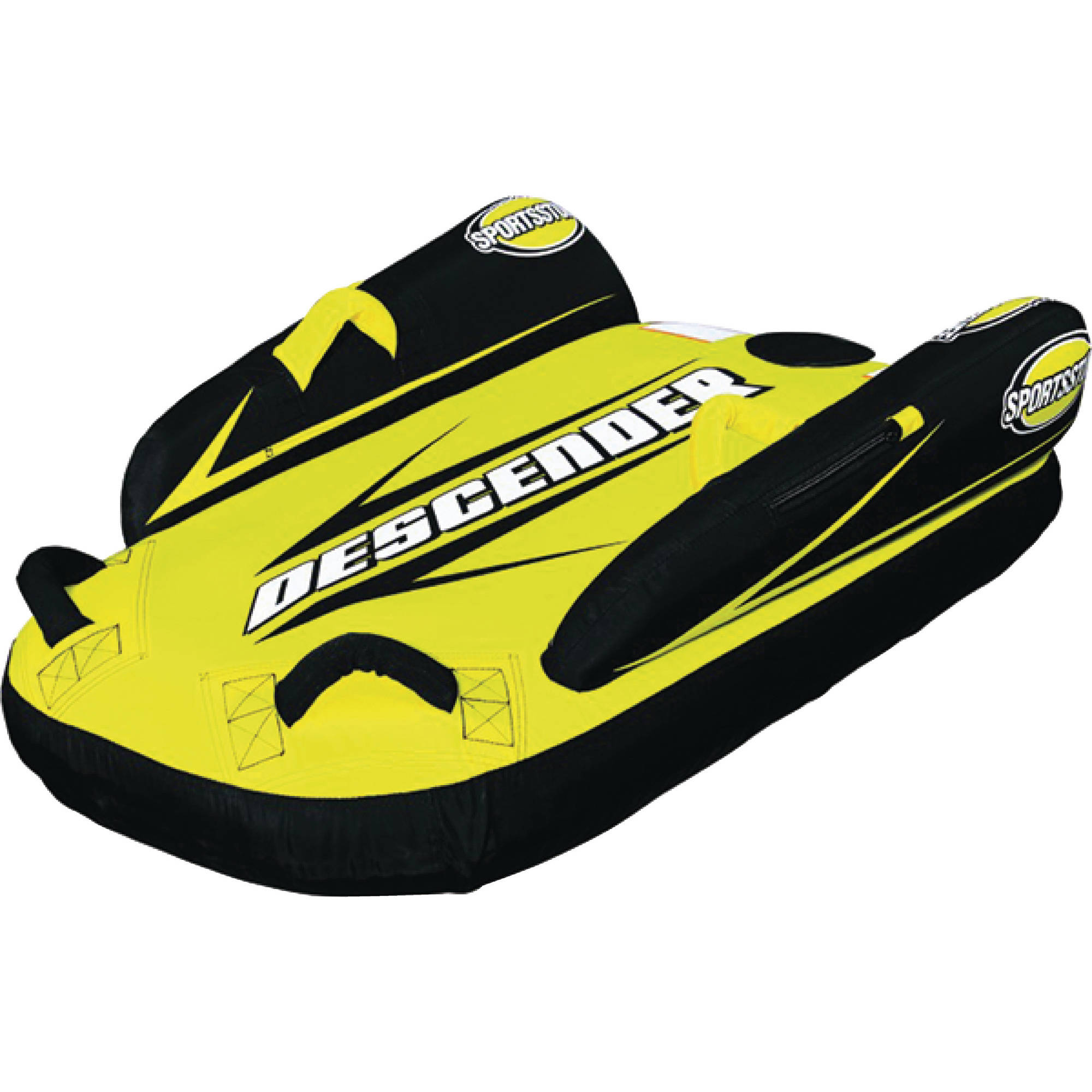 Sporsstuff 30-2000 Descender Single Rider Snow Tube Sled by Kwik-Tek inc.