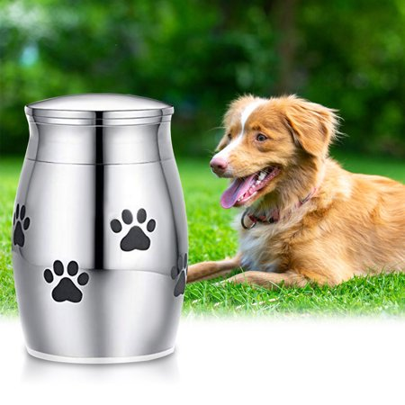 Pet Urn Small Cremation Urn for Pet Ashes Stainless Steel ...
