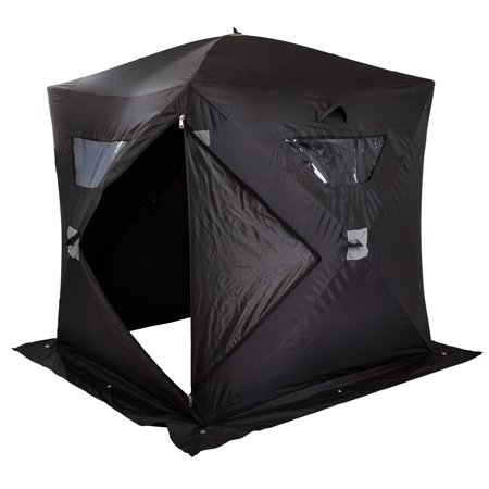 Portable ice fishing angler shelter tent for Walmart ice fishing