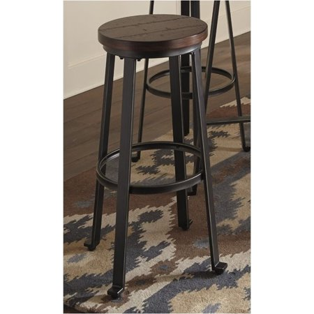Bowery Hill 30 Quot Bar Stool In Rustic Brown Walmart Com