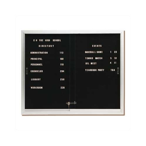Best-Rite Deluxe Directory Wall Mounted Letter Board