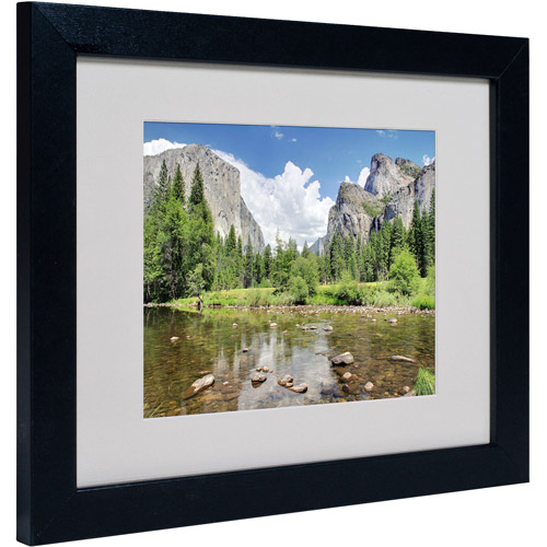 "Trademark Fine Art ""Yosemite"" Matted Framed Art by Pierre Leclerc"