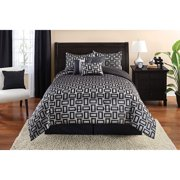 Mainstays 7-Piece Geo Comforter Set