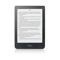 "Kobo Clara HD eReader - 6"" Glare-Free, High-Definition Carta E Ink Touchscreen Display, ComfortLight PRO, Wi-Fi enabled"