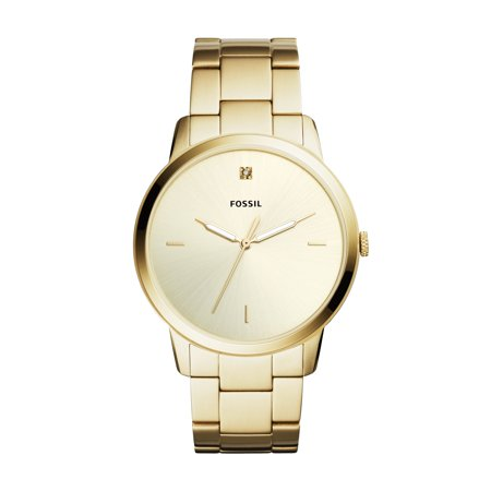 Fossil Men's Minimalist Carbon Series Gold Tone Stainless Steel Watch (Style: FS5457) ()