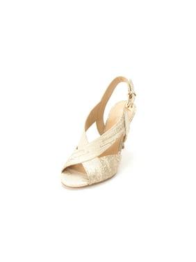 cf94de11473 Product Image Michael Kors Womens Becky Open Toe Casual Slingback Sandals