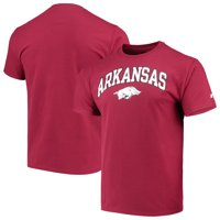 Men's Russell Athletic Cardinal Arkansas Razorbacks Crew Core Print T-Shirt
