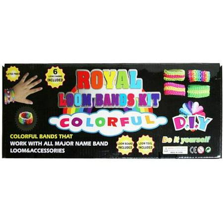 Royal Loom Band Kit - Loom Bands Kit