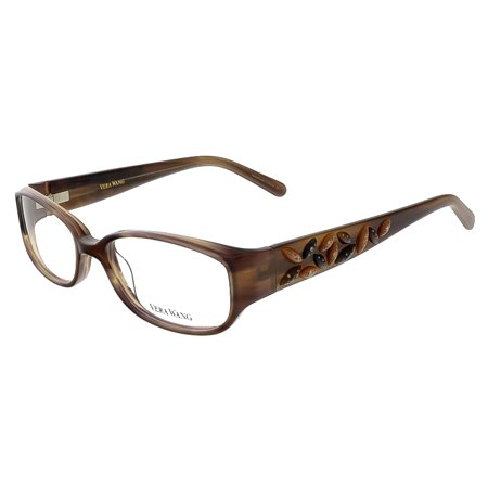 Vera Wang V 088 BR 49 Brown Full Rim Womens Optical Frame (Optical Frames)