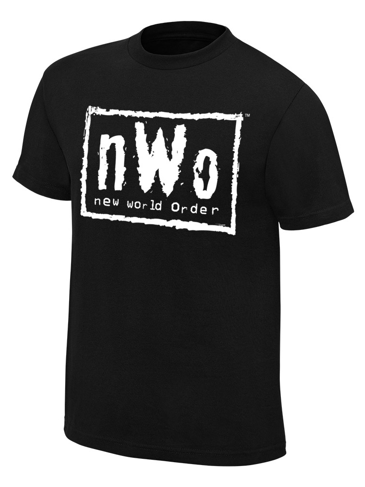Official Wwe Authentic Nwo Youth Retro T-Shirt Black Small