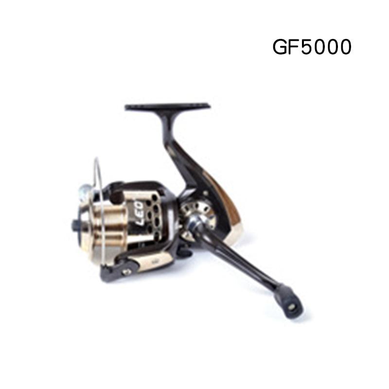 LEO Sea Fishing Spinning Reel Wheel Left Right Interchangeable Folding Handle