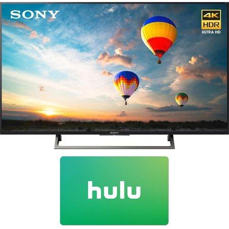 Sony XBR-55X800E 55-inch 4K HDR Ultra HD Smart LED TV (2017 Model) w/ Hulu $25 Gift Card