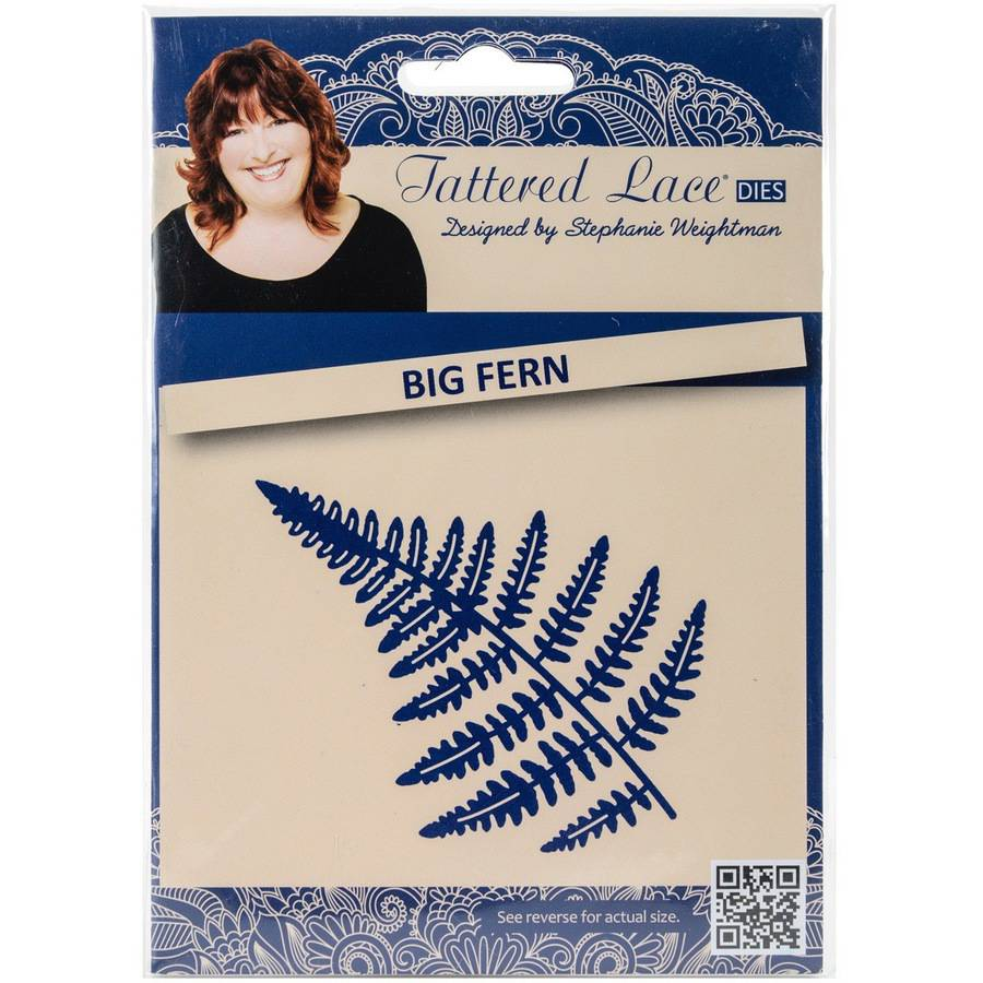 Tattered Lace Metal Die-big Fern