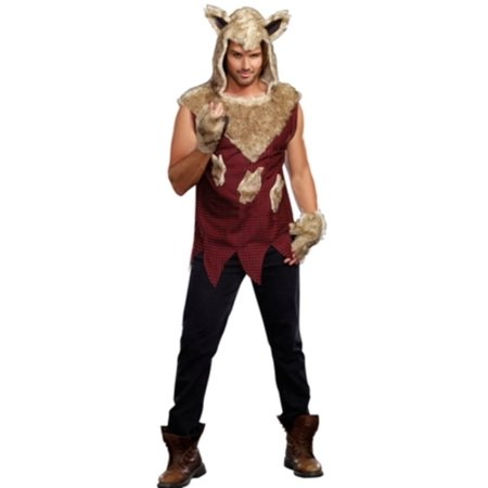 Mens Big Bad Wolf Costume 9493 by Dreamgirl Red](She Wolf Costume)