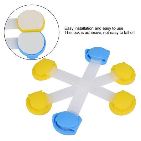 Baby Lock Hurrise 4pcs Set Adhesive Long Safety Durable