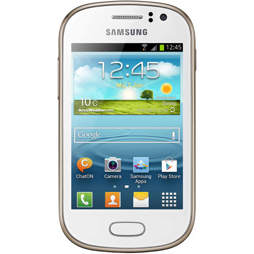 Samsung Galaxy Fame S6810 Smartphone (Unlocked), White