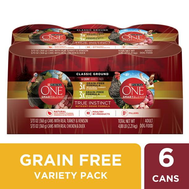 Purina ONE Grain Free Natural Dry Dog Food