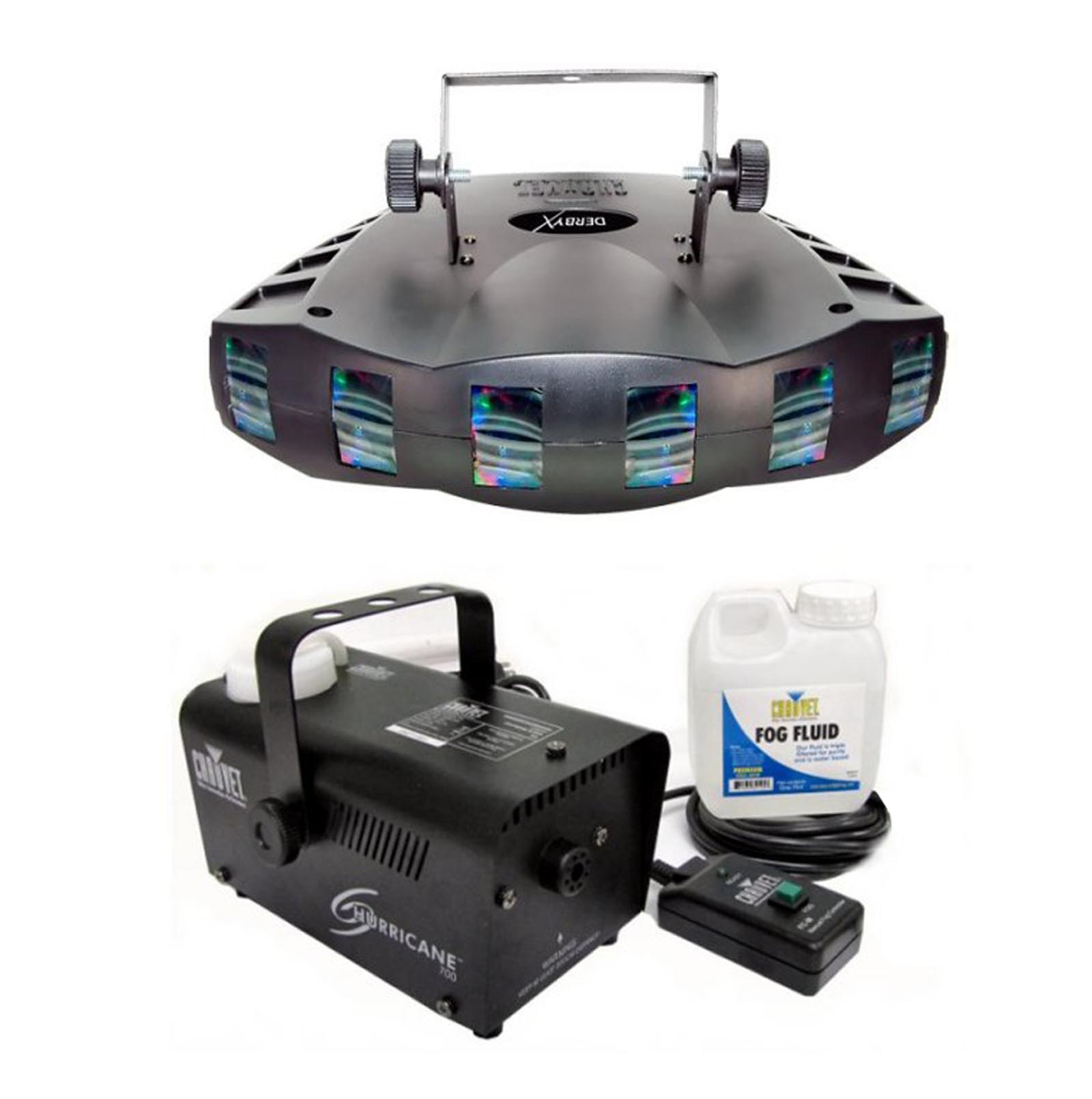 CHAUVET DERBY X RGB DMX Pro DJ Club Effect Strobe Light +...