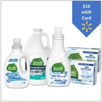Free $10 eGift Card with Seventh Generation Free & Clear Laundry Bundle