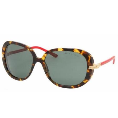 Polo Ralph Lauren Tortoise Frame (Polo Ralph Lauren Sunglasses RL8052 5134/71 Tortoise Frames Green Lens 60MM