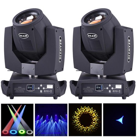 LED Moving Head Light Disco Stage Flood Beam Party Light DMX-512 - Led Disco Lights