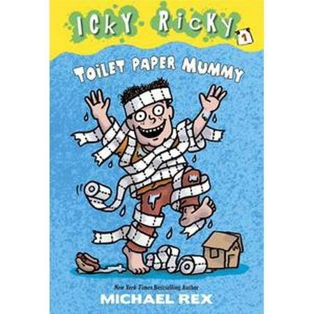 Icky Ricky #1: Toilet Paper Mummy - - Halloween Mummy Toilet Paper Games