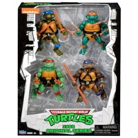 Teenage Mutant Ninja Turtles Nickelodeon 1988 Original Series Action FIgure 4-Pack