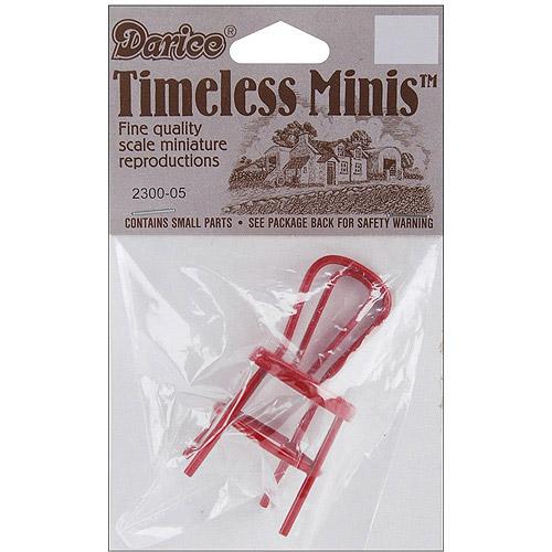 Timeless Miniatures Metal Chair