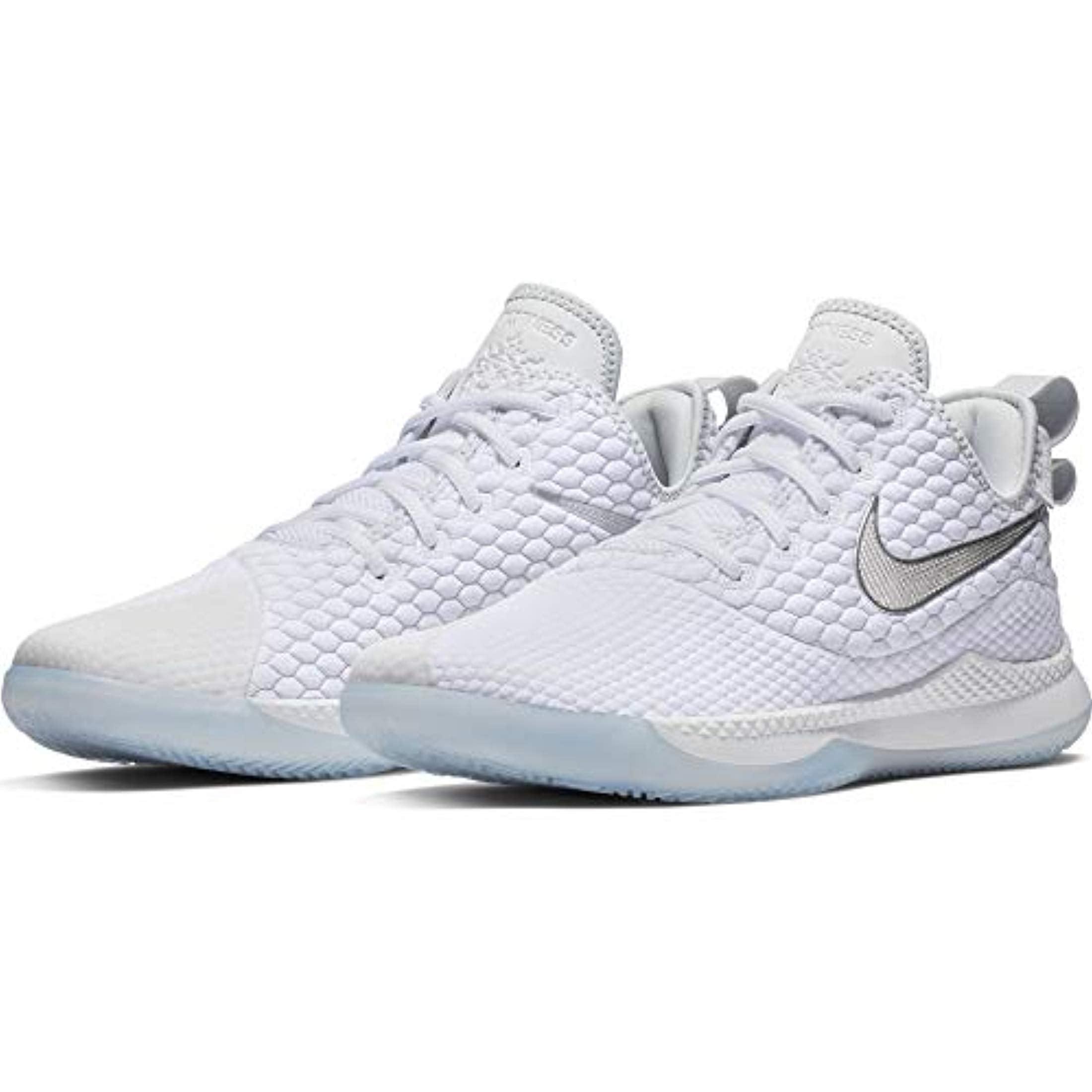 Nike - Nike Men's Lebron Witness III Basketball Shoe White/Chrome/Pure  Platinum/Wolf Grey Size 14 M US - Walmart.com
