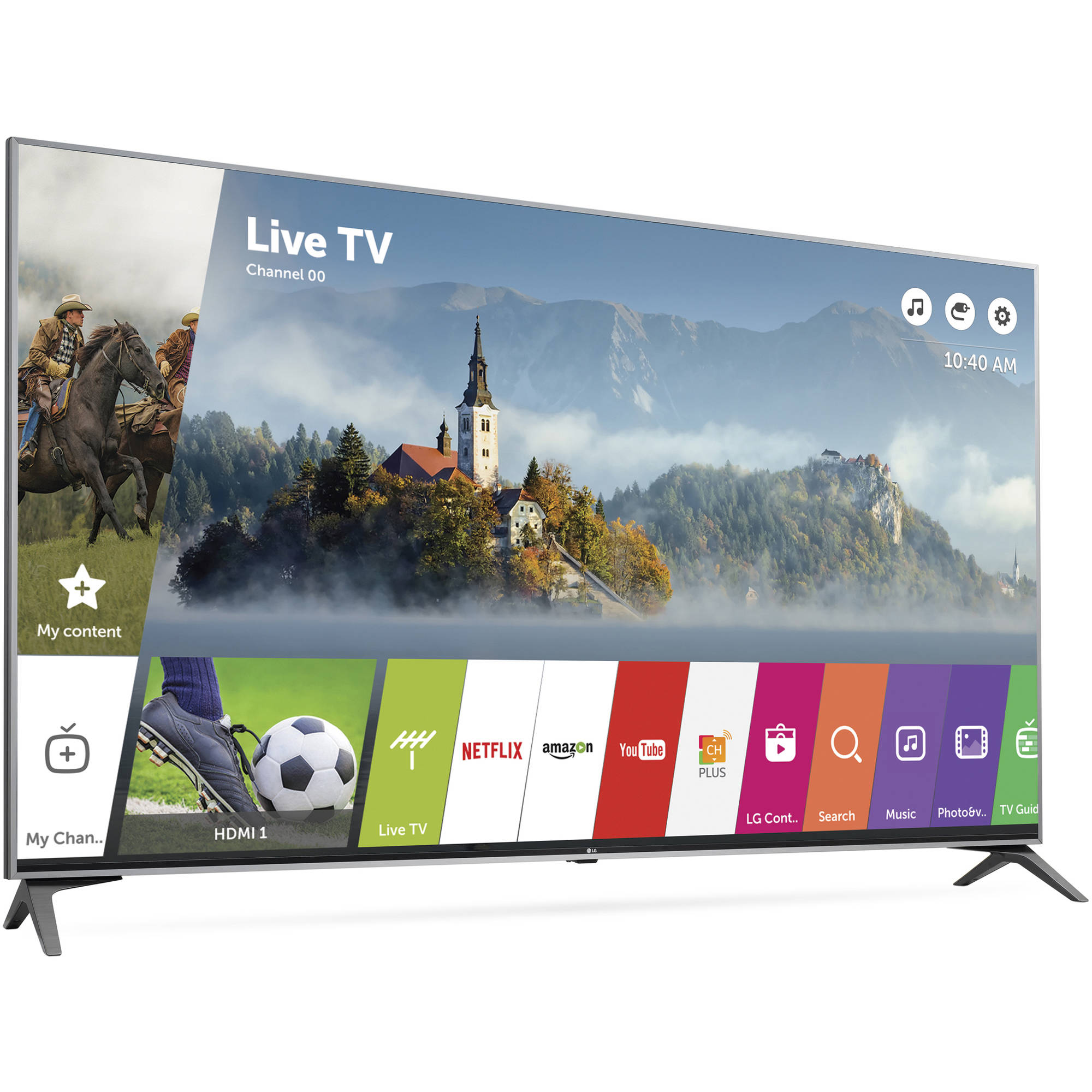 "LG 55"" Class 4K (2160P) Ultra HD Smart LED TV (55UJ7700)"