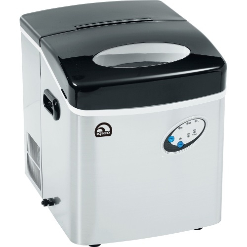 Igloo ICE115-SS Extra-Large Ice Maker, Stainless Steel Refurbished by