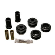 Energy Suspension 81-90 Dodge/Chrysler/Plymount Black Front Lower and Upper Control Arm Bushing Set