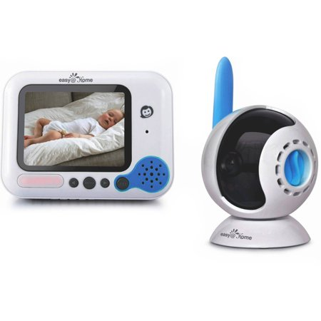 Easy Home Wireless Digital Video Baby Monitor With 3 5  Full Color Tft Lcd Screen And Infrared Night Vision