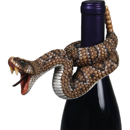 Rivers Edge Products Snake Wine Bottle Hanger