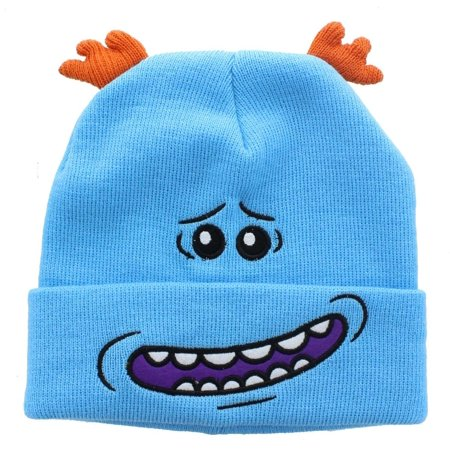 - Rick and Morty Embroidered Mr. Meeseeks Beanie