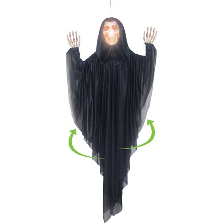 5' Hanging Spinning Reaper Halloween Decoration